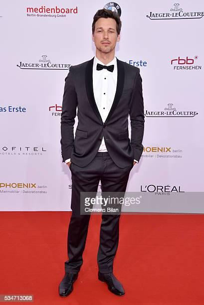 Florian David Fitz wearing a dress by Boss attends the Lola German Film Award on May 27 2016 in Berlin Germany