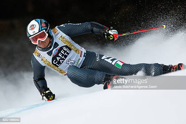 Florian Eisath of Italy competes during the Audi FIS Alpine Ski World Cup Men's Giant Slalom on December 18 2016 in Alta Badia Italy