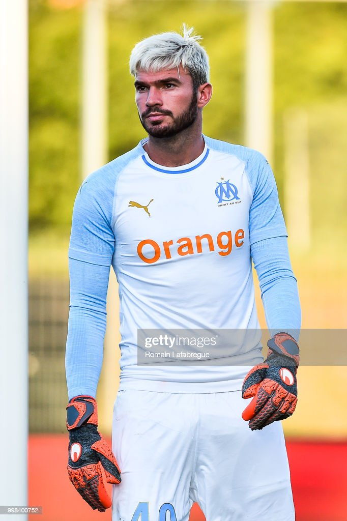 florian escales of marseille during the friendly match