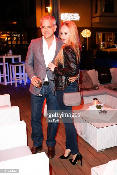 Florian Fitz and his girlfriend Tatjana Thinius attend the 'Baltic Lights' charity event on March 10 2017 in Heringsdorf Germany Every year German...