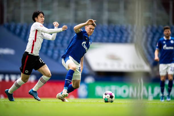 DEU: FC Schalke 04 v Eintracht Frankfurt - Bundesliga for DFL