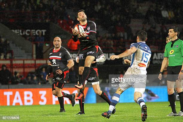 Florian Fritz of Toulouse during the Top 14 match between Stade Toulousain and Castres Olympique on November 5 2016 in Toulouse France