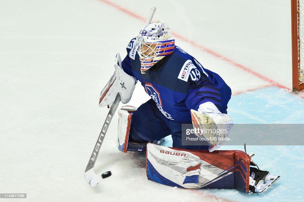 Germany v France: Group A - 2019 IIHF Ice Hockey World Championship Slovakia : News Photo