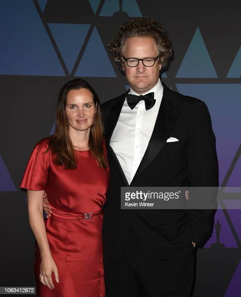 Florian Henckel von Donnersmarck and Christiane Asschenfeldt attend the Academy of Motion Picture Arts and Sciences' 10th annual Governors Awards at...