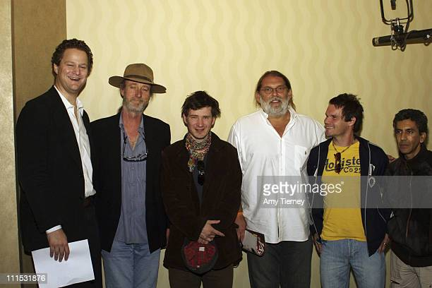 Florian Henkel von Donnersmarck Director/Screenwriter for the German Foreign Oscar submission 'Lives of Others' Rolf De Heer Director of the...