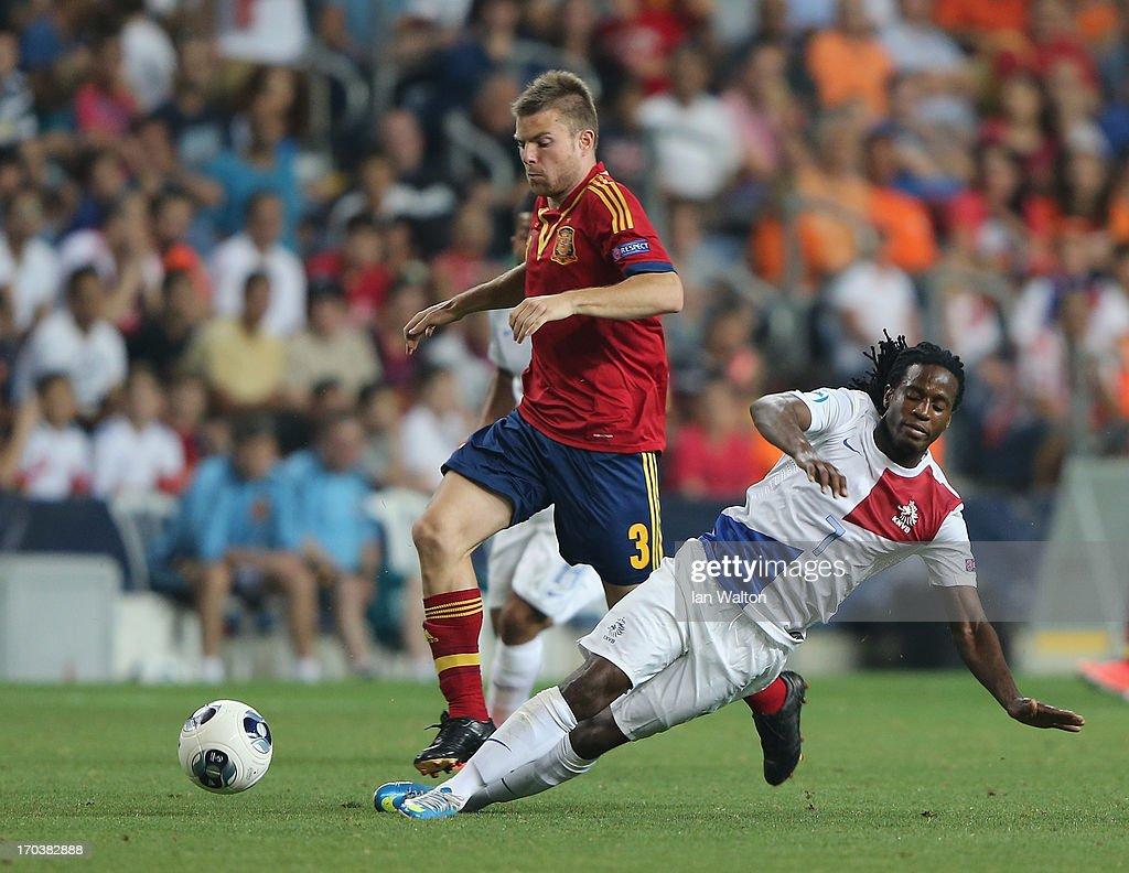 Spain v Netherlands - UEFA European U21 Championships: Group B : News Photo