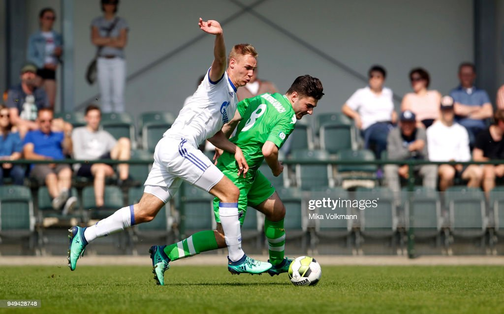 Borussia Moenchengladbach v FC Schalke 04 - A Juniors Bundesliga West