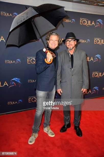 Florian Langenscheidt and Jochen Schweizer during the world premiere of the horse show 'EQUILA' at Apassionata Showpalast Muenchen on November 5 2017...