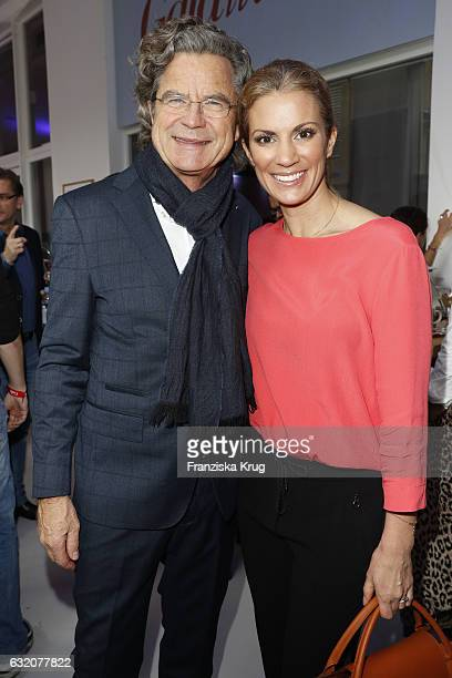 Florian Langenscheidt and Kerstin Linnartz attend the 'Gala' fashion brunch during the MercedesBenz Fashion Week Berlin A/W 2017 at Ellington Hotel...