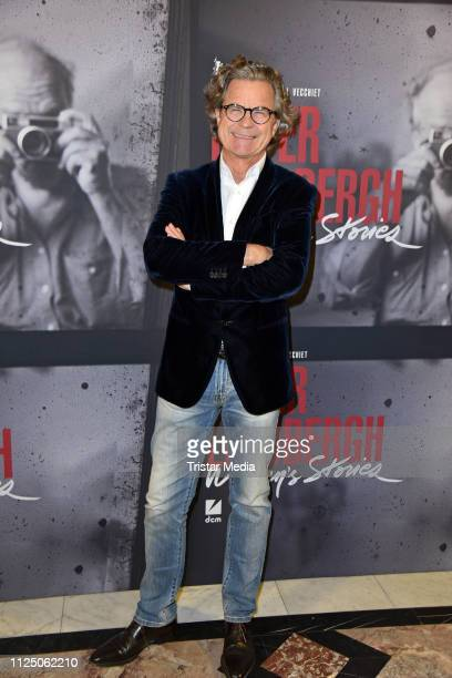 Florian Langenscheidt attends the 'Peter Lindbergh Women Stories' world premiere after show party during the 69th Berlinale International Film...