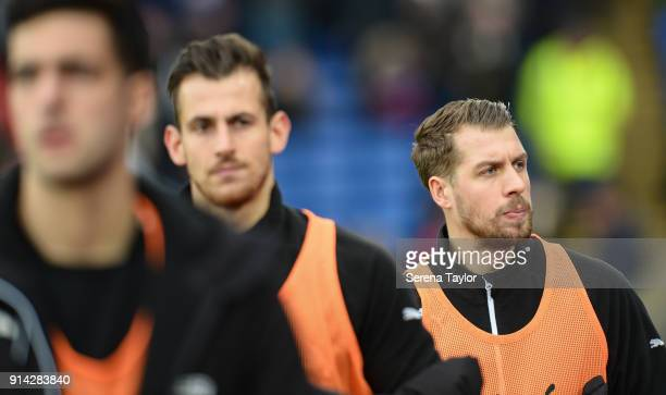 Florian Lejeune of Newcastle United walks outside during the Premier League match between Crystal Palace and Newcastle United at Selhurst Park on...