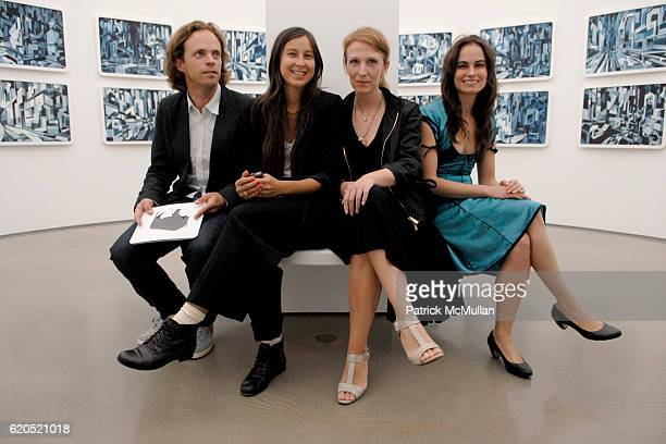 Florian MaierAichen Mariko Munro Stephanie Hin and Inka Essenhigh attend 303 Gallery Opening Reception NEW WORKS by DOUG AITKEN at 547 W 21 Street on...