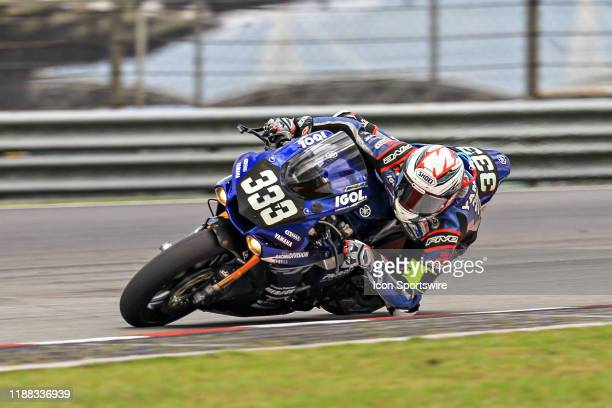 Florian Marino of VRD Igol Pierret Experiences in action during qualifying session of the FIM EWC - The Sepang 8 hours Endurance Race on December 12...