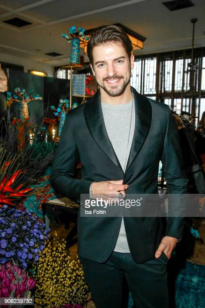 Florian Molzahn attends the Thomas Sabo Press Cocktail during the MercedesBenz Fashion Week Berlin A/W 2018 at China Club on January 17 2018 in...