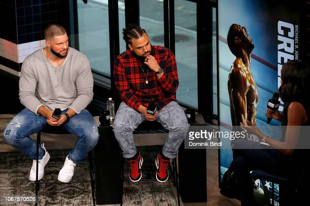 Florian Munteanu and Steven Caple Jr visit Build Series to discuss the film 'Creed ll' at Build Studio on November 14 2018 in New York City