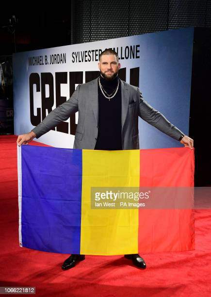 Florian Munteanu attending the European premiere of Creed 2 held at the BFI Imax Waterloo London PRESS ASSOCIATION Photo Picture date Wednesday...