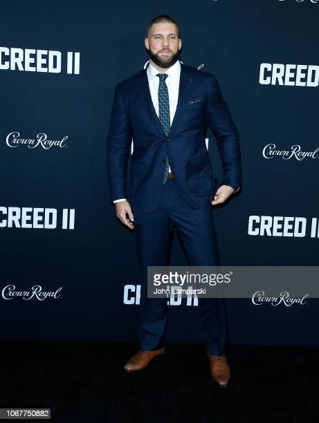 Florian Munteanu attends Creed II New York Premiere at AMC Loews Lincoln Square on November 14 2018 in New York City