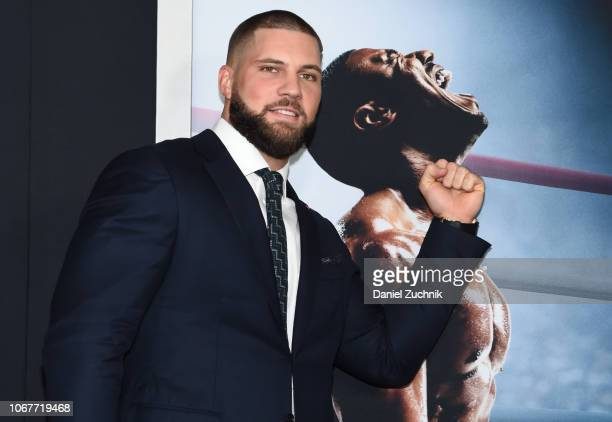 Florian Munteanu attends the 'Creed II' New York Premiere at AMC Loews Lincoln Square on November 14 2018 in New York City