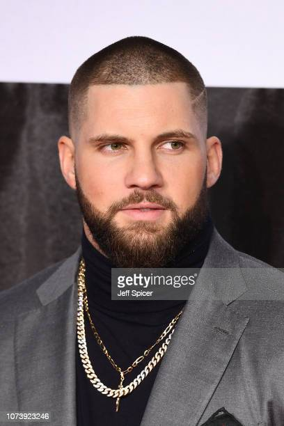 Florian Munteanu attends the European Premiere of Creed II at BFI IMAX on November 28 2018 in London England