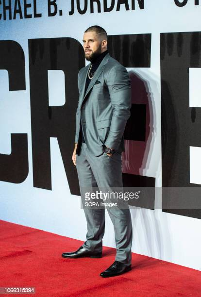 Florian Munteanu attends the European Premiere of 'Creed II' at BFI IMAX