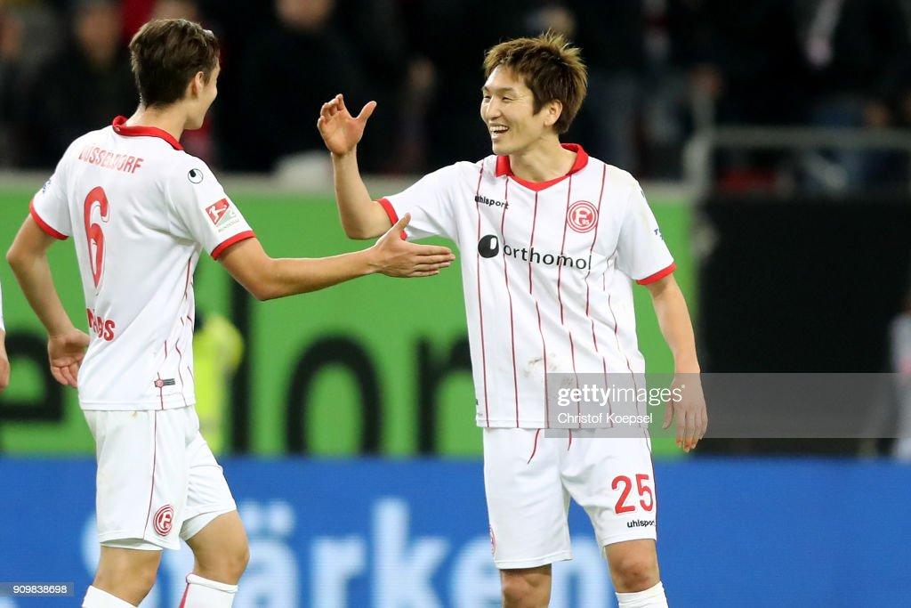 Fortuna Duesseldorf v FC Erzgebirge Aue - Second Bundesliga : ニュース写真