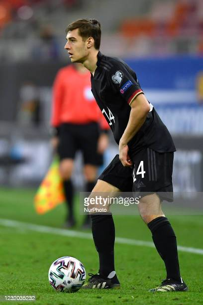 Florian Neuhaus during the game between Romania an Germany, in the World Cup 2022 Qualifiers, at National Arena Bucharest on March 28, 2021 in...