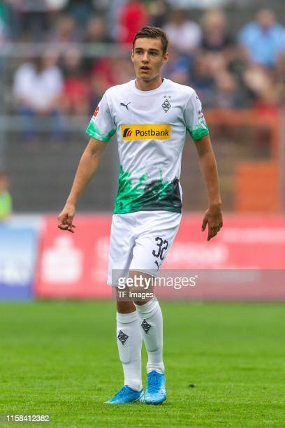 Florian Neuhaus of Borussia Moenchengladbach looks on during the preseason friendly match between Borussia Moenchengladbach and Athletic Bilbao on...