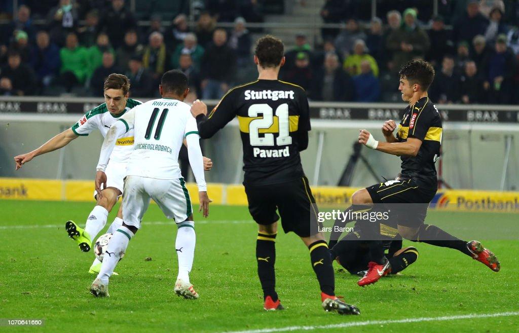 Borussia Moenchengladbach v VfB Stuttgart - Bundesliga : Nachrichtenfoto
