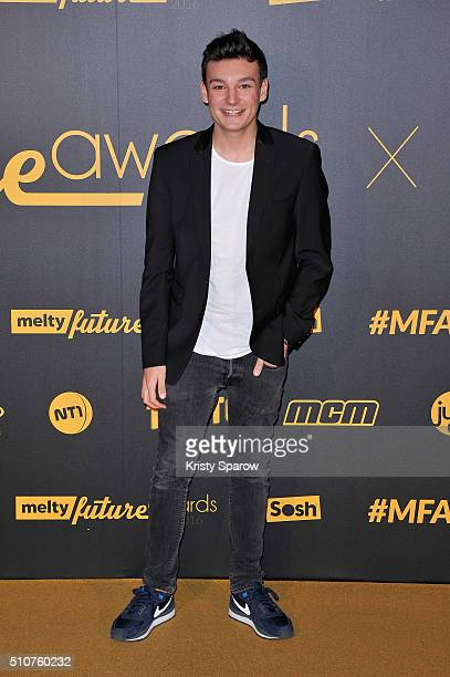 Florian N'Guyen attends The Melty Future Awards 2016 at Le Grand Rex on February 16 2016 in Paris France