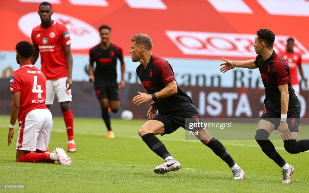 1. FSV Mainz 05 v FC Augsburg - Bundesliga : ニュース写真