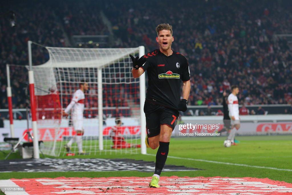 DEU: VfB Stuttgart v Sport-Club Freiburg - Bundesliga