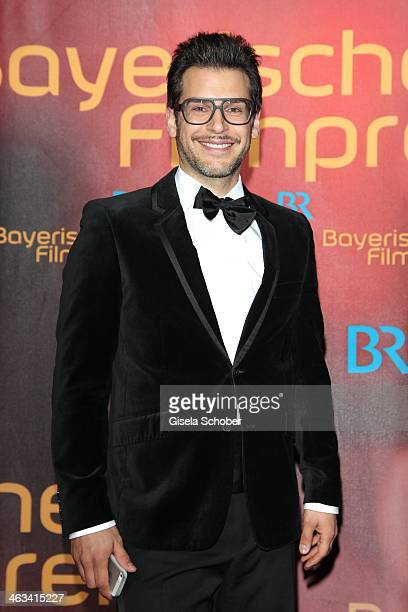 Florian Odendahl attends the Bavarian Film Award 2014 at Prinzregententheater on January 17 2014 in Munich Germany