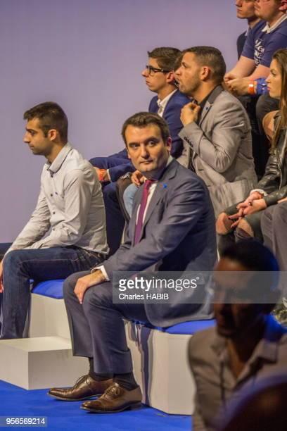 Florian Philippot lors des Assises présidentielles du Front National le 4 février 2017 Lyon France