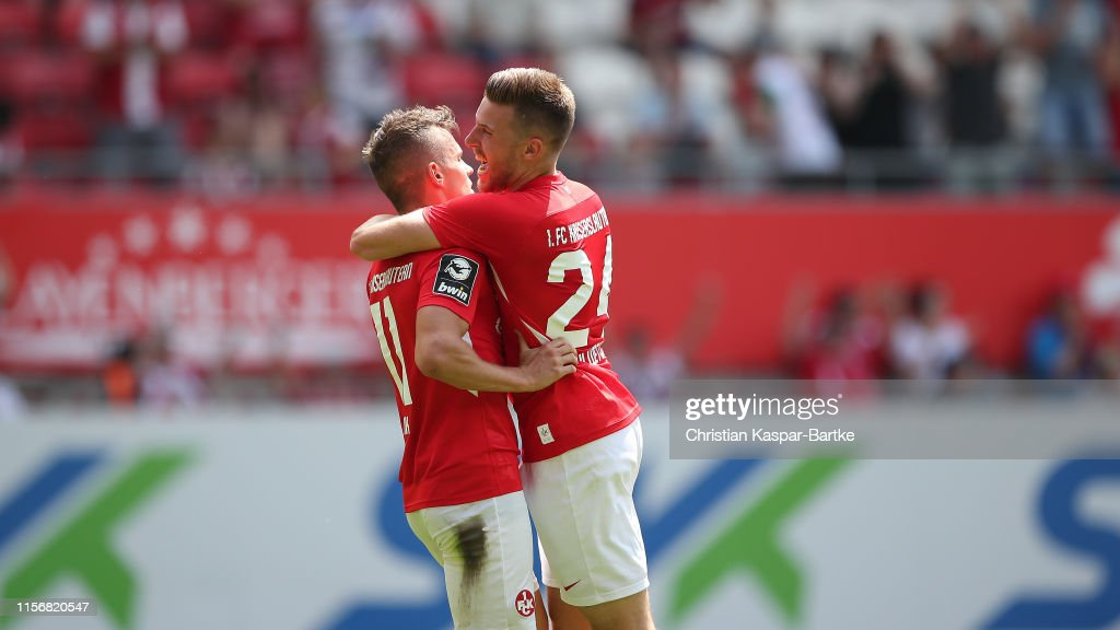 1. FC Kaiserslautern v SpVgg Unterhaching - 3. Liga : News Photo