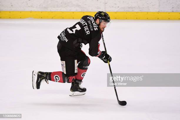 Florian SABATIER of Amiens during match 7 of the Ligue Magnus quarter-final play-offs between Amiens and Mulhouse on March 11, 2020 in...