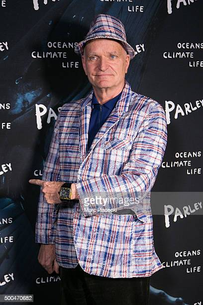 Florian Schneider attends the 'Parley Talks' photocall at Les Bains Douches on December 8 2015 in Paris France