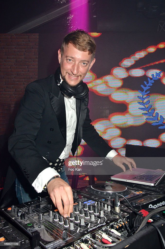 DJ Florian Seller attends The Queer Film Awards 2013 Cocktail at Terrazza Martini - The 66th Annual Cannes Film Festival on May 26, 2013 in Cannes, France.