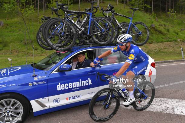 Florian Senechal of France and Team Deceuninck QuickStep / Car / during the 102nd Giro d'Italia 2019 Stage 18 a 222km stage from Valdaora to Santa...
