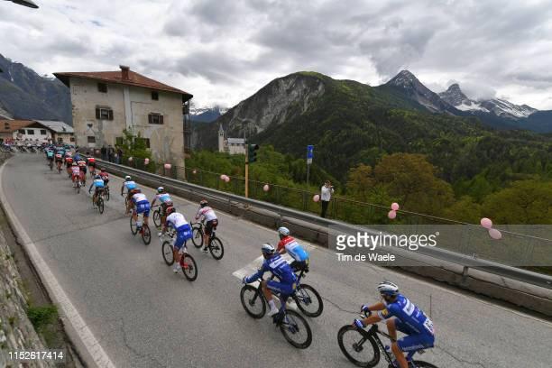 Florian Senechal of France and Team Deceuninck QuickStep / Fabio Sabatini of Italy and Team Deceuninck QuickStep / Bob Jungels of Luxembourg and Team...