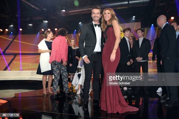 Florian Silbereisen and Mareile Hoeppner during the 'Tribute To Bambi' gala at Station on October 5 2017 in Berlin Germany
