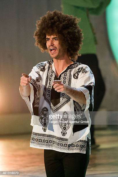 Florian Silbereisen attends the 'Das grosse Fest der Besten' tv show at Velodrom on January 10 2015 in Berlin Germany