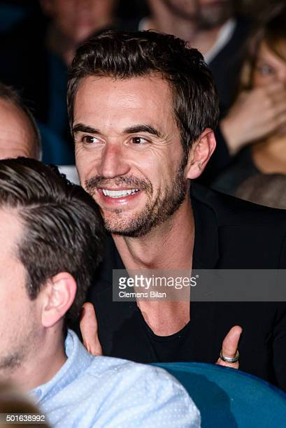 Florian Silbereisen attends the 'Tatort Der Grosse Schmerz' premiere in Berlin at Kino Babylon on December 16 2015 in Berlin Germany