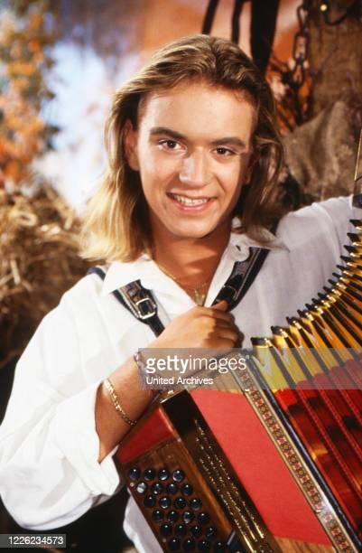 Florian Silbereisen, deutsches Akkordeon-Wunderkind, Deutschland 1999