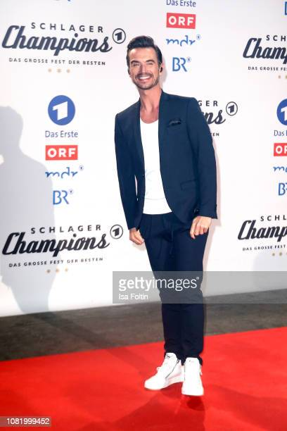 Florian Silbereisen during the television show 'Schlagerchampions Das grosse Fest der Besten' at Velodrom on January 12 2019 in Berlin Germany