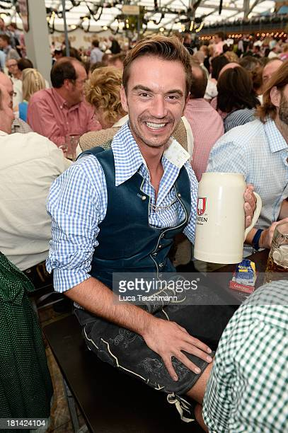 Florian Silbereisen is seen at Theresienwiese on September 21 2013 in Munich Germany