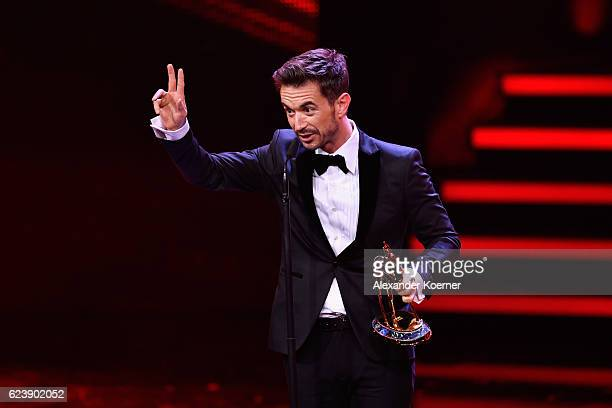 Florian Silbereisen is seen on stage during the Bambi Awards 2016 show at Stage Theater on November 17 2016 in Berlin Germany