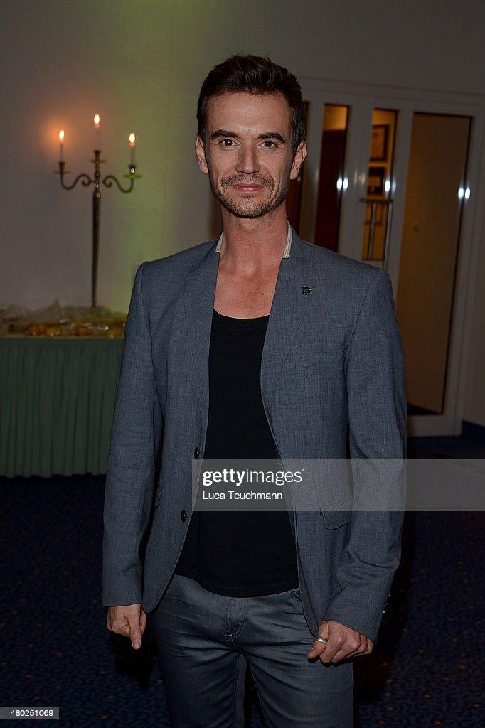 Florian Silbereisen performs 'Das grosse Fest zum Jubilaeum' TV Show at GETEC Arena on March 22, 2014 in Magdeburg, Germany.