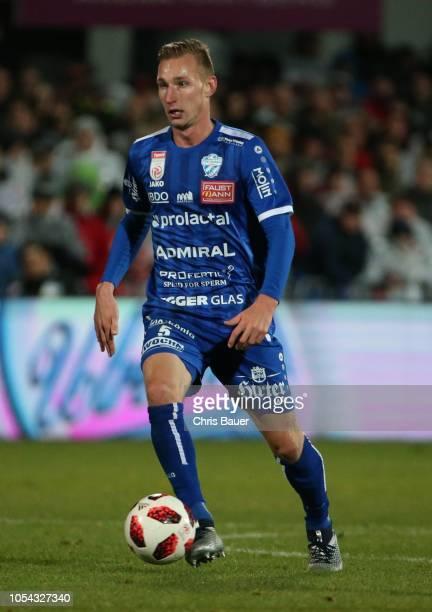 Florian Sittsam of TSV Hartberg during the tipico Bundesliga match between TSV Prolactal Hartberg and SK Sturm Graz at Profertil Arena on October 27,...