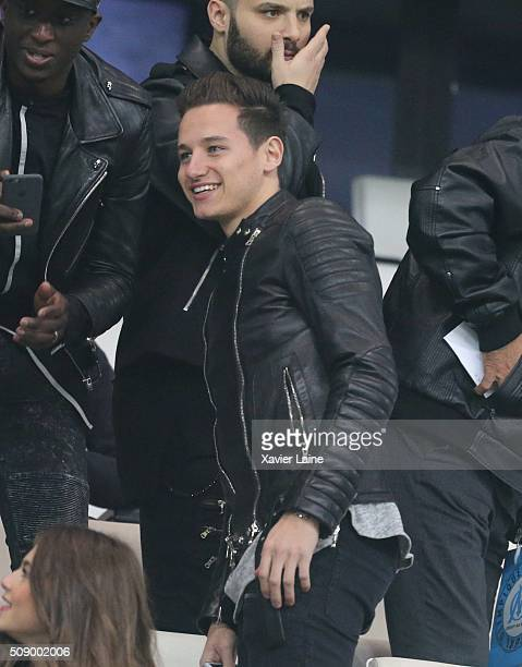 Florian Thauvin attends the French Ligue 1 between Olympique de Marseille and Paris SaintGermain at Stade Velodrome on february 7 2016 in Marseille...