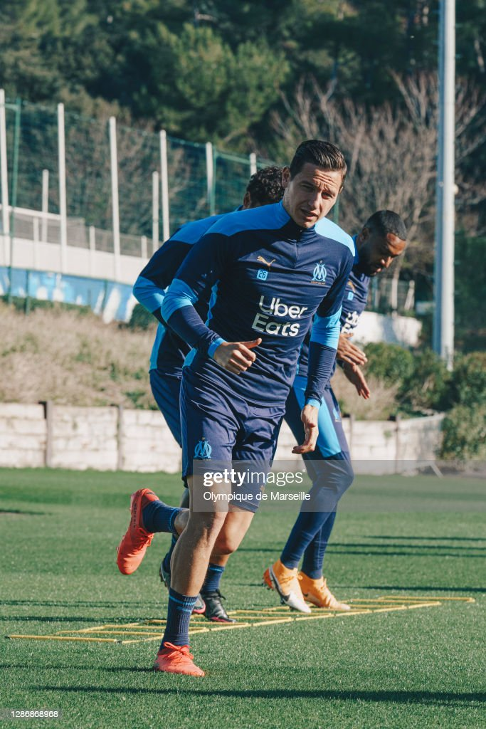 Olympique de Marseille Training Session : News Photo